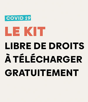 Kit de communication libre de droits