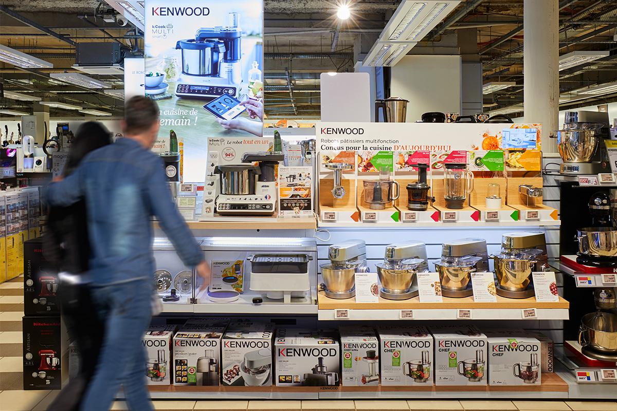 Agence Brio Retail Design Et Merchandising Kenwood Choisit