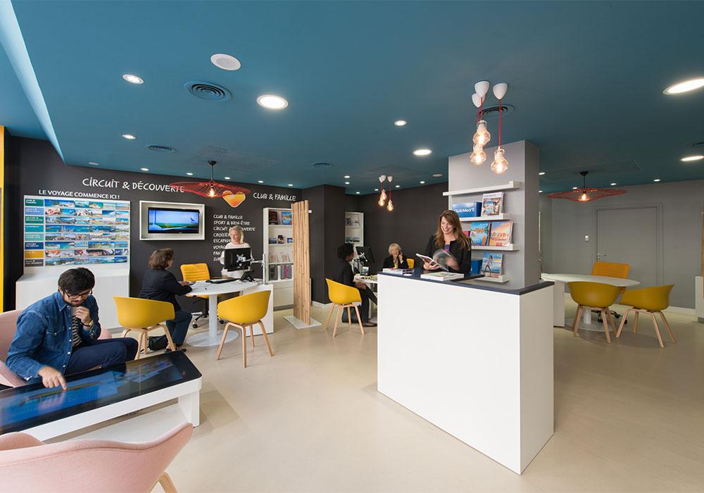 thomas cook r invente l 39 agence de voyage avec brio. Black Bedroom Furniture Sets. Home Design Ideas